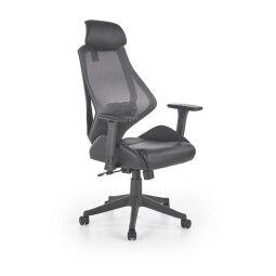 Кресло поворотное Halmar Hasel | Черный / серый