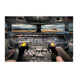 Картина на стекле Signal Кокпит самолета