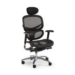 Кресло поворотное Halmar President  | Черный