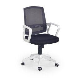 Кресло поворотное Halmar Ascot | Черный / Серый / Белый