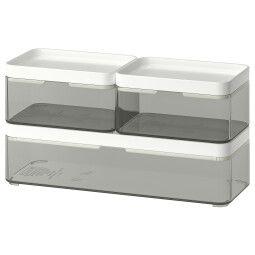IKEA Комплект коробок BROGRUND (ИКЕА БРОГРУНД)