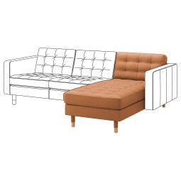 IKEA Модульная секция дивана LANDSKRONA (ИКЕА ЛАНДСКРУНА)