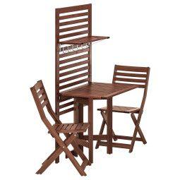 IKEA Комплект мебели садовой ÄPPLARÖ (ИКЕА ЭПЛАРО)