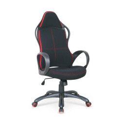Кресло поворотное Halmar Helix 2 | Черный / Красный