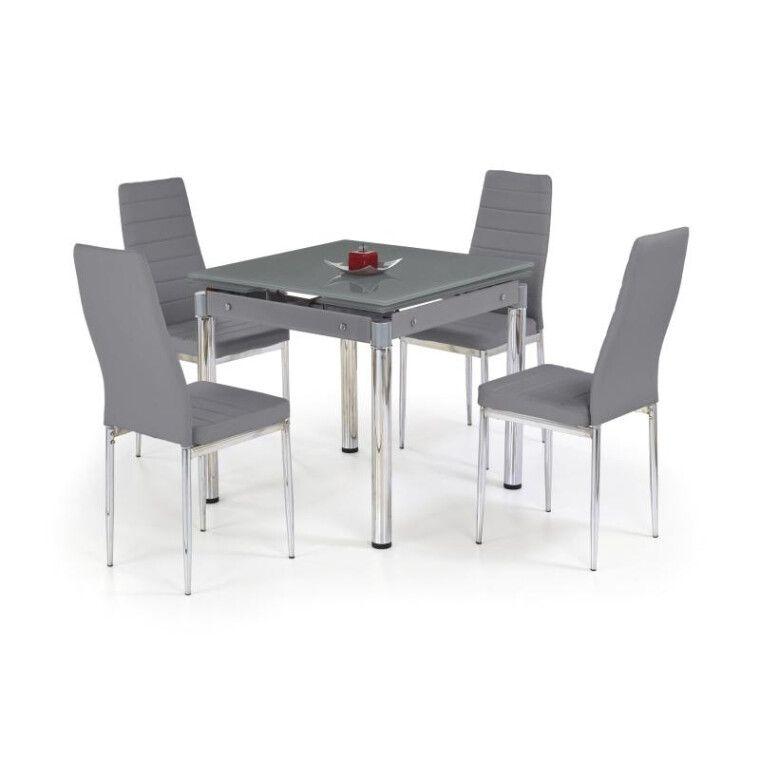 Стол раскладной Halmar Kent | Серый / хром