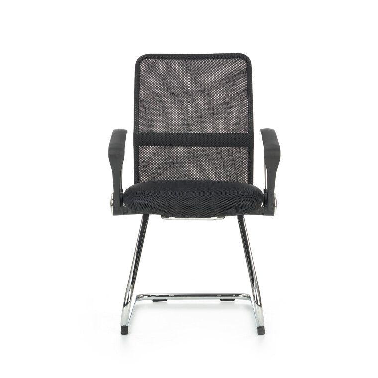 Кресло офисное Halmar Vire Skid    Черный - 4