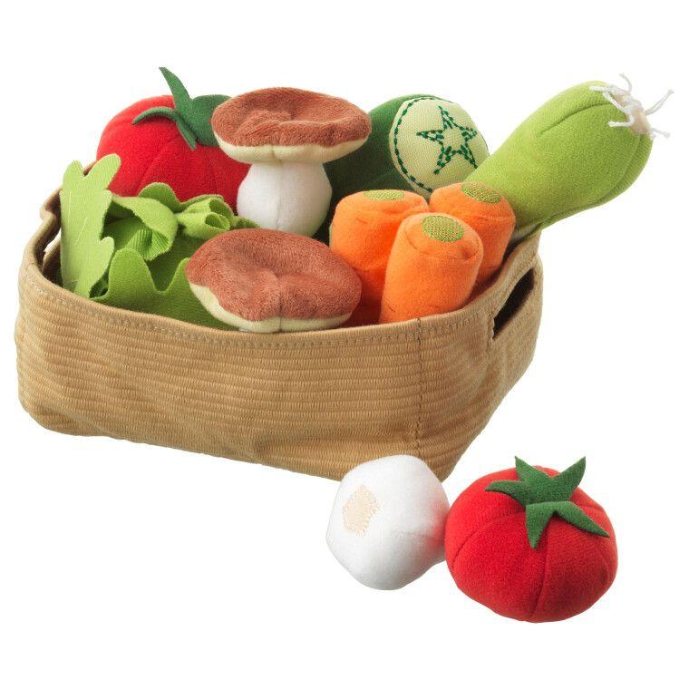 Корзина с овощами DUKTIG
