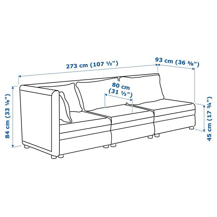 Модульная система дивана VALLENTUNA - 8