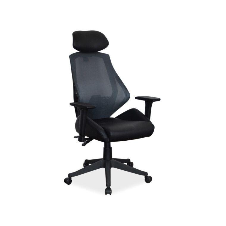Кресло поворотное Signal Q-406 | Черный