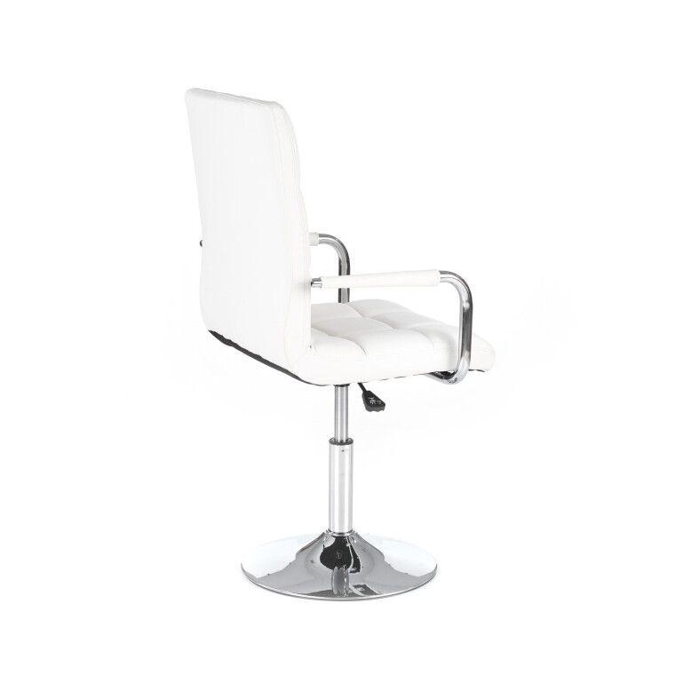 Кресло поворотное Halmar Gonzo | Белый - 2