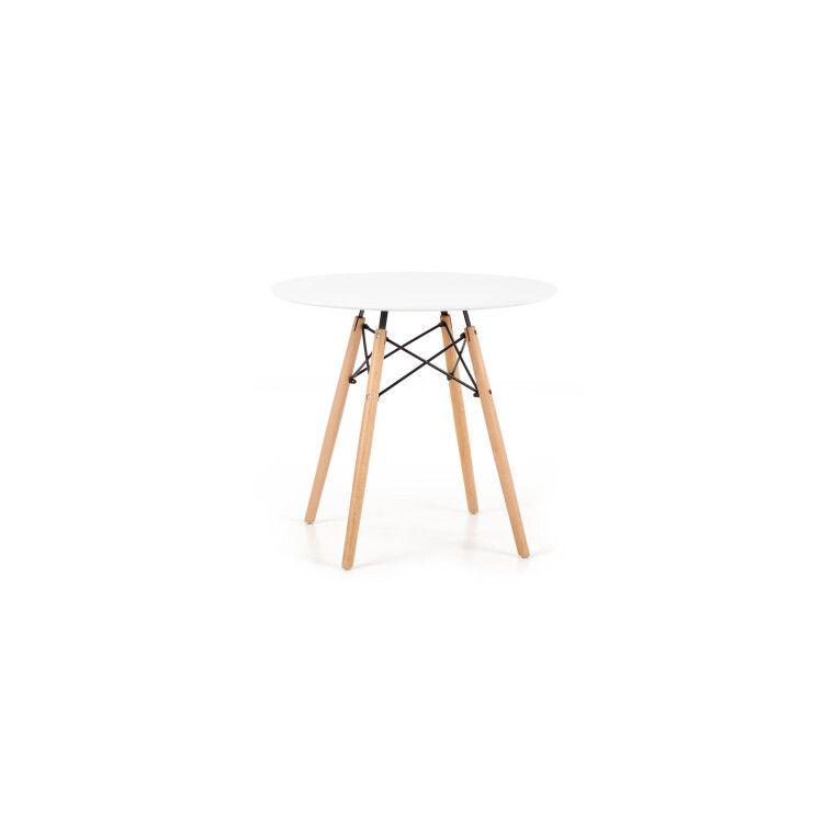 Стол обеденный Halmar Prometheus круглый | Белый - 3