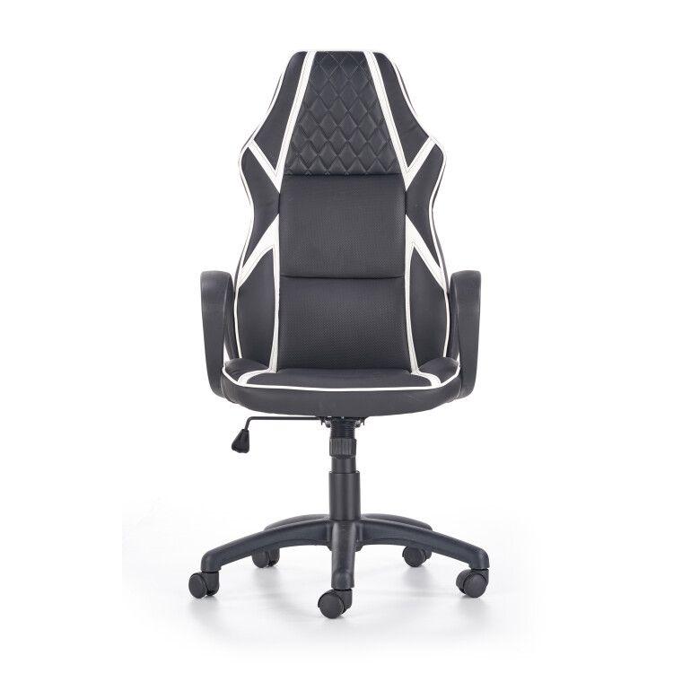 Кресло поворотное Halmar Dodger | Черный / белый - 7