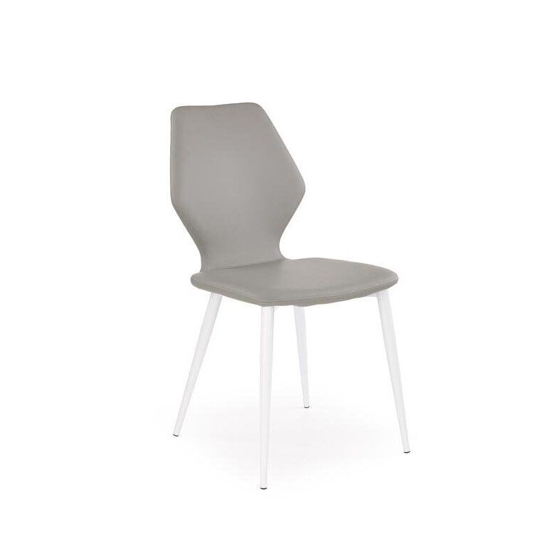 Стул Halmar K249 | Серый / белый