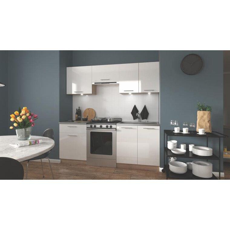 Кухонный гарнитур Halmar Marija 200 | Дуб Сонома / белый фото