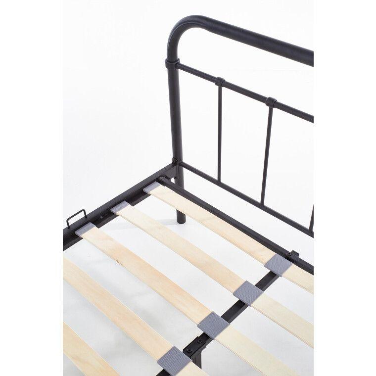 Кровать Halmar Linda | 120х200 / Черный - 6