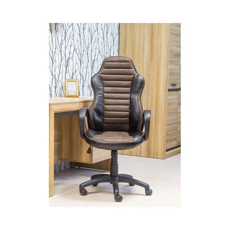 Кресло поворотное Signal Q-212 | Коричневый / черный - 2