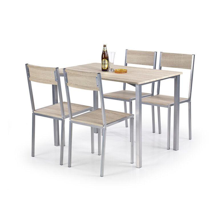 Набор мебели столовой Halmar Ralph | Дуб сонома