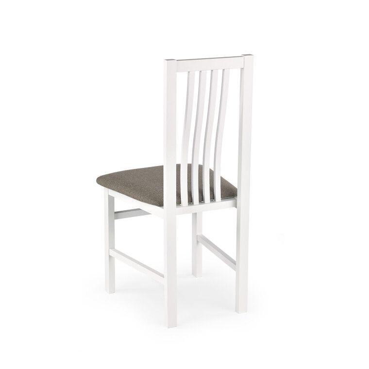 Стул кухонный Halmar Pawel | Белый / серый (Inari 23) фото - 2
