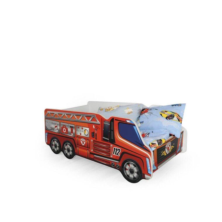 Кровать детская Halmar Fire Truck   Пожарная машина
