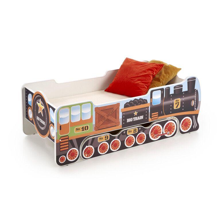 Кровать детская Halmar Lokomo   Поезд