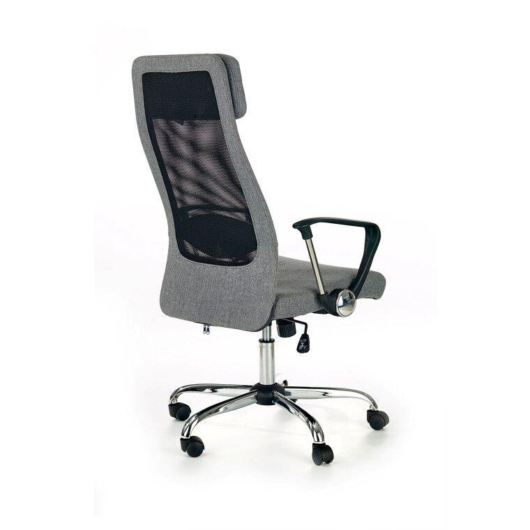 Кресло поворотное Halmar Zoom | Серый - 4