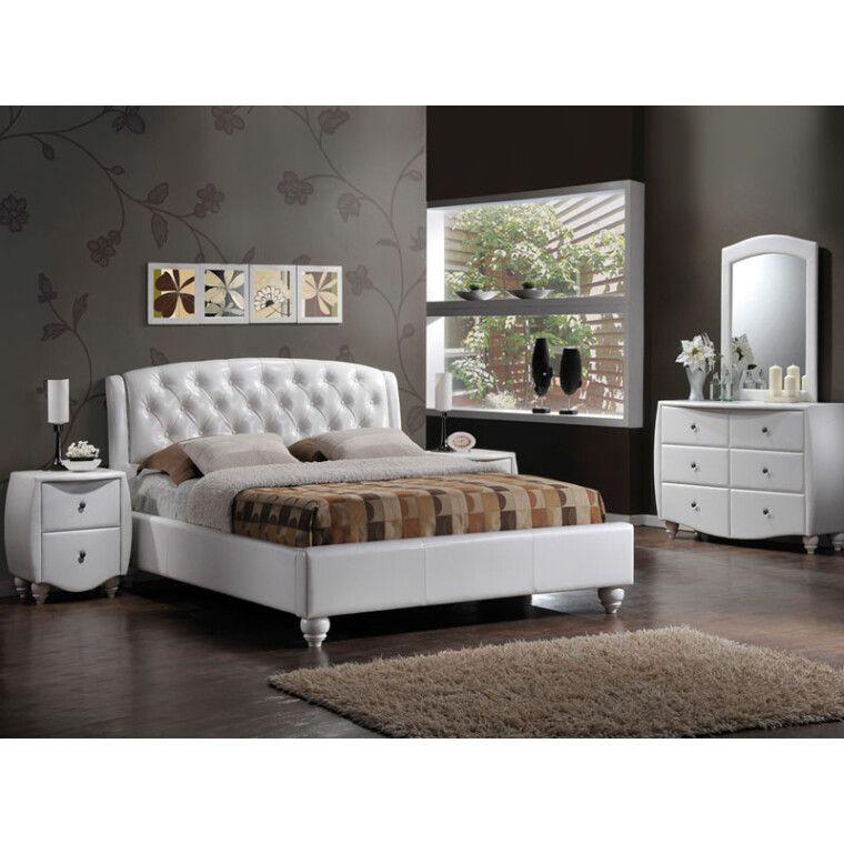 Кровать Signal Potenza | 160х200 / Белый