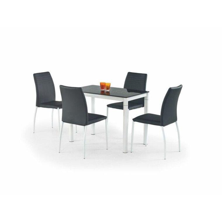 Стол обеденный Halmar Argus | Черный / белый
