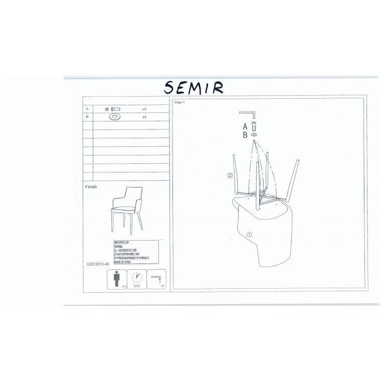 Cтул Signal Semir | Графит - 2
