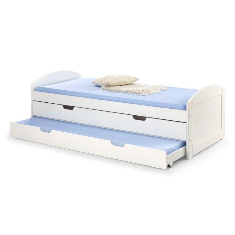 Кровать детская Halmar Laguna 2 | Белый
