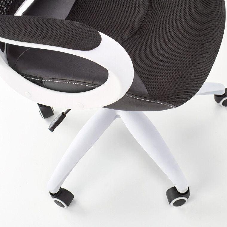 Кресло поворотное Halmar Striker 2 | Черный / белый - 7