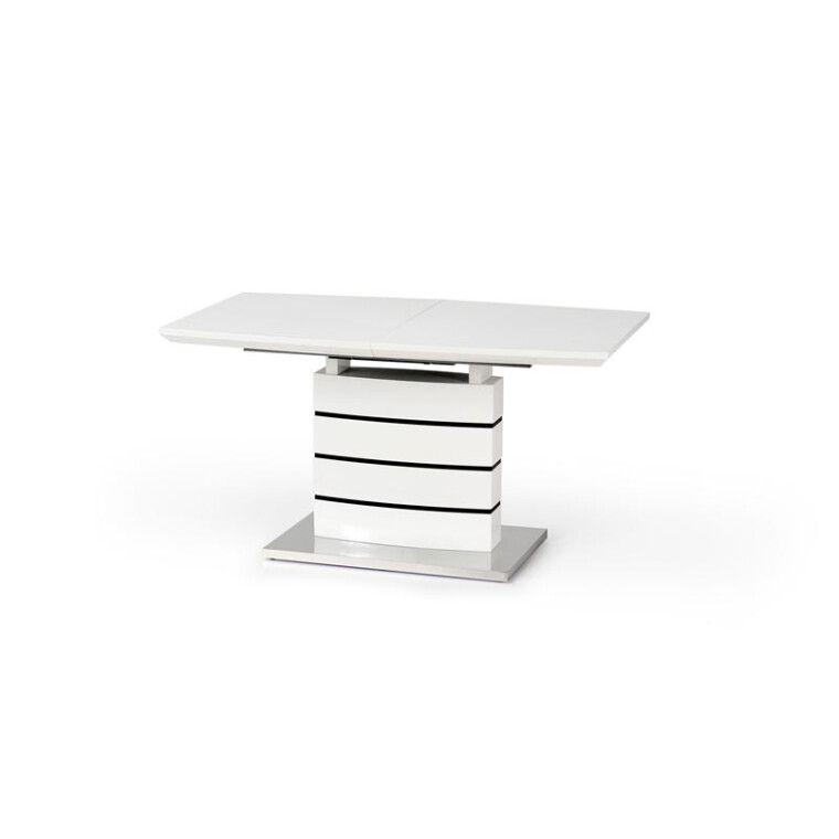 Стол раздвижной Halmar Nord | Белый / черный - 4