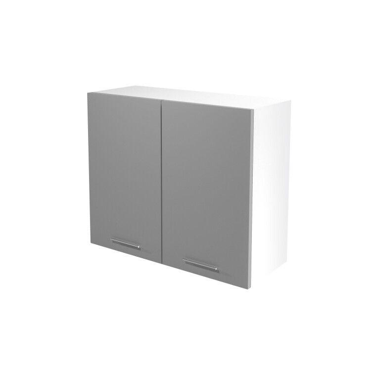 Верхний шкаф модульный Halmar Vento G-80/72 | Светло-серый фото
