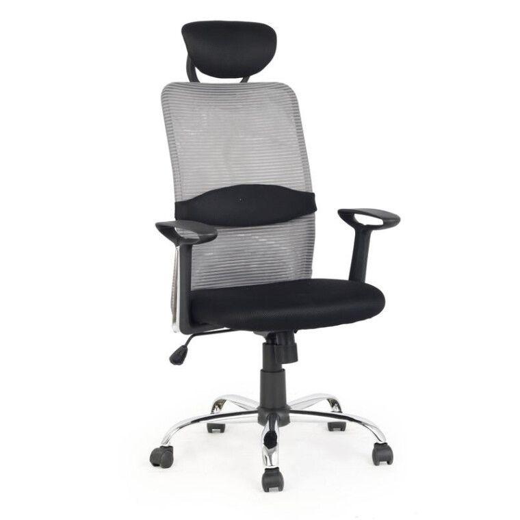 Кресло поворотное Halmar Dancan | Черный / Серый