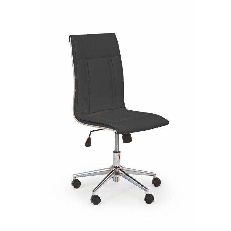Кресло поворотное Halmar Porto   Черный