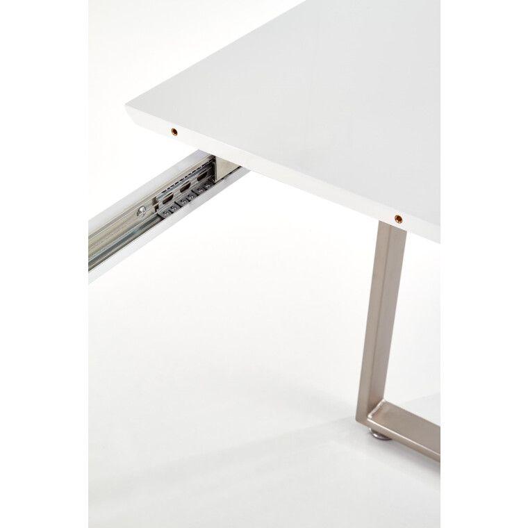 Стол раскладной Halmar Thomas | Белый / Бетон - 6