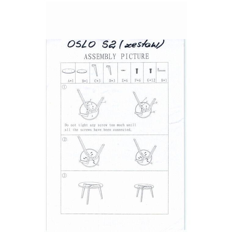 Столик журнальный Signal Oslo S2 | Прозрачный - 2