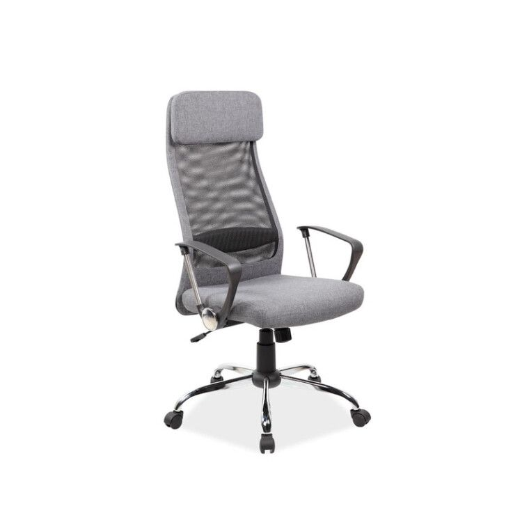 Кресло поворотное Signal Q-345 | Черный / серый фото