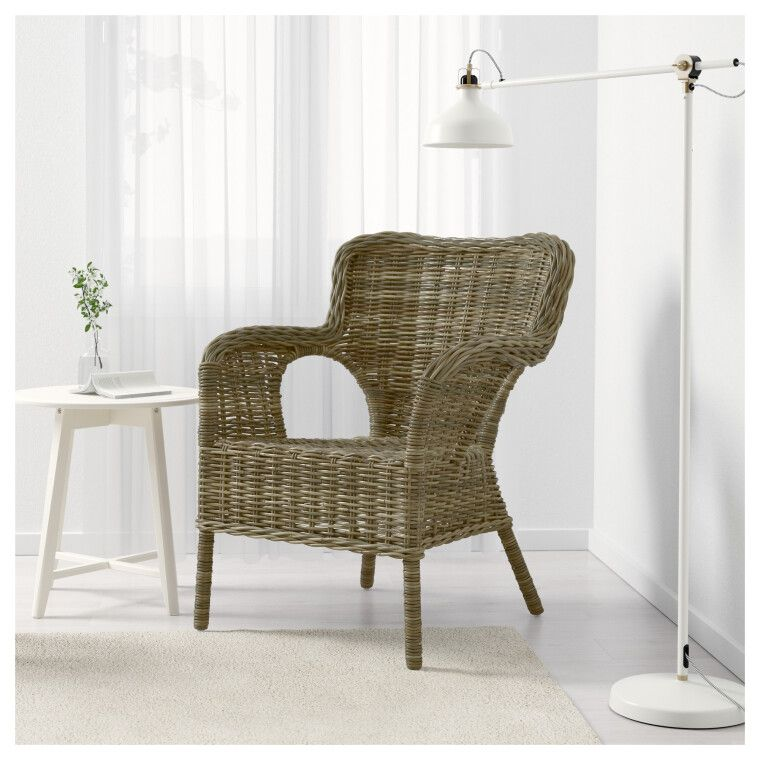 Кресло садовое BYHOLMA - 4