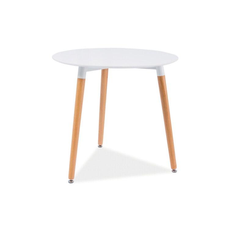 Стол обеденный Signal Nolan III | Белый / бук
