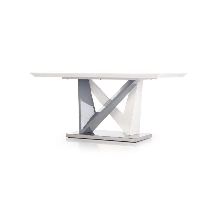 Стол обеденный Halmar Cortez | Белый / серый - 5