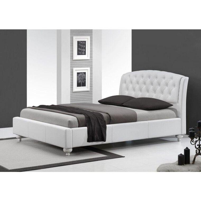 Кровать Halmar Sofia   160х200 / Белый