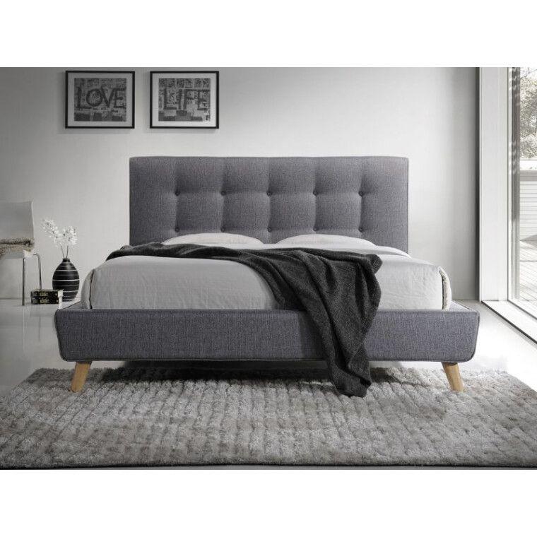 Кровать Signal Sevilla | 160х200 / Серый / Дуб