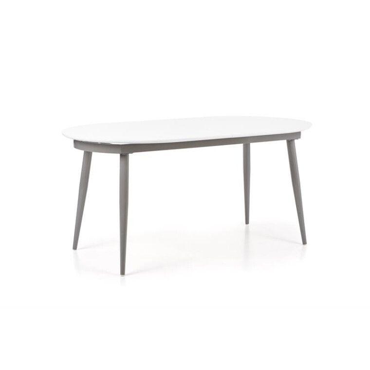 Стол раскладной Halmar Crispin | Белый / серый - 8