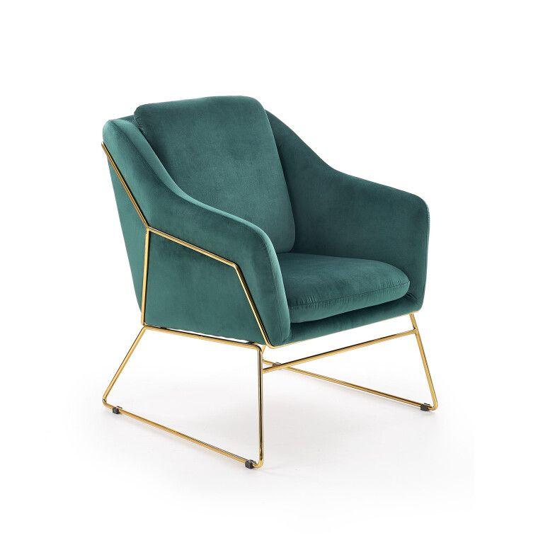 Кресло Halmar Soft 3 | Зеленый