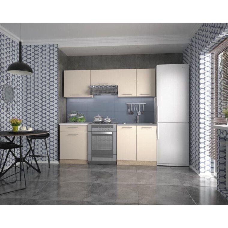 Кухонный гарнитур Halmar Marija 200 | Дуб Сонома / ваниль