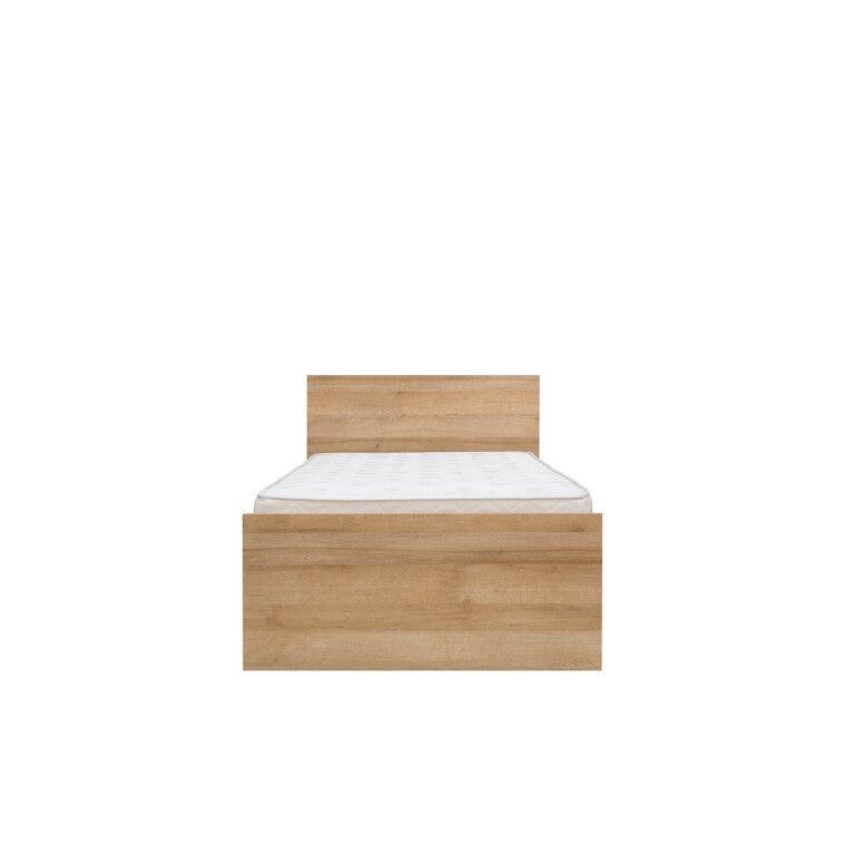 Кровать BRW Balder | 90x200 / Дуб ривьера