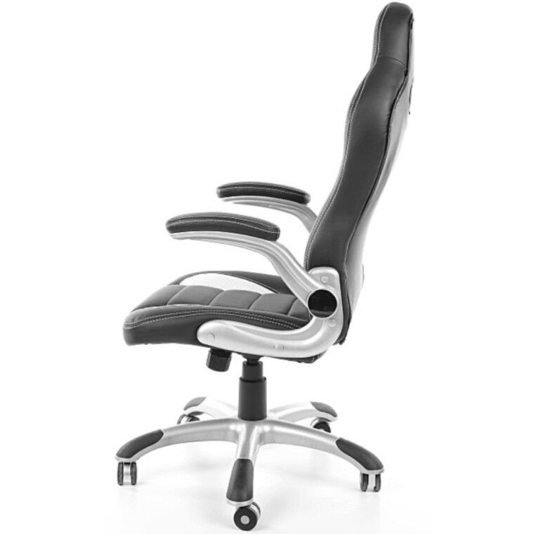 Кресло поворотное Signal Q-024   Черный / белый - 3