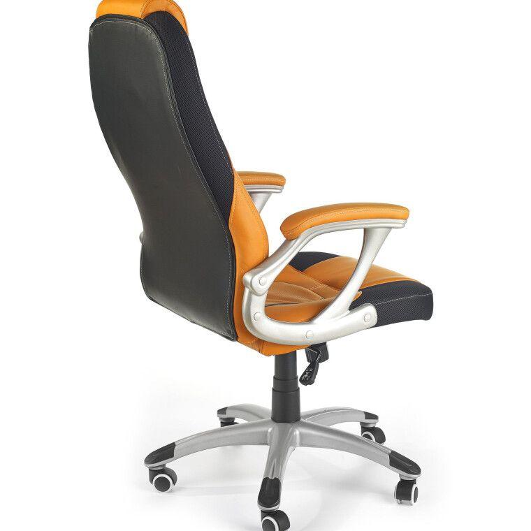 Кресло поворотное Halmar Viper    Оранжевый / Черный - 2