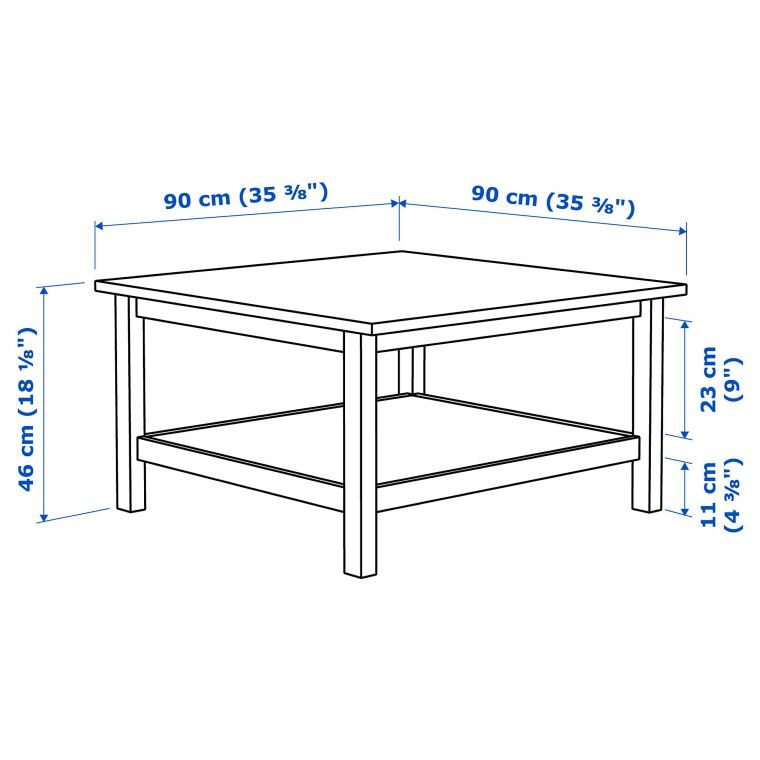 Журнальный столик HEMNES - 3