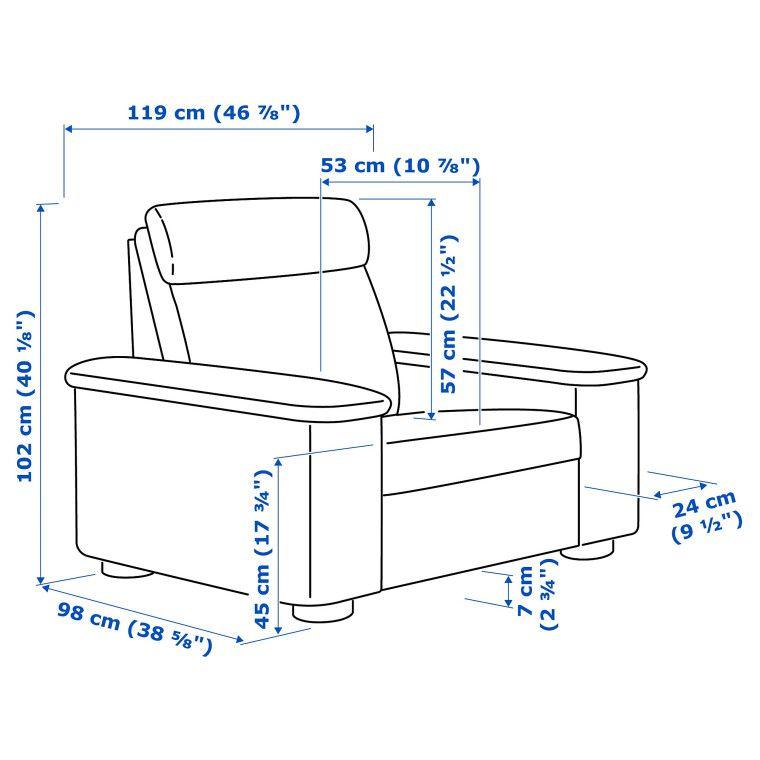 Кресло LIDHULT - 8
